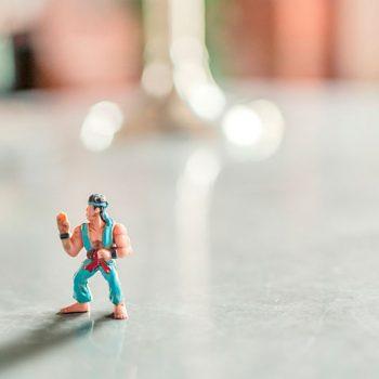 Action figure hero
