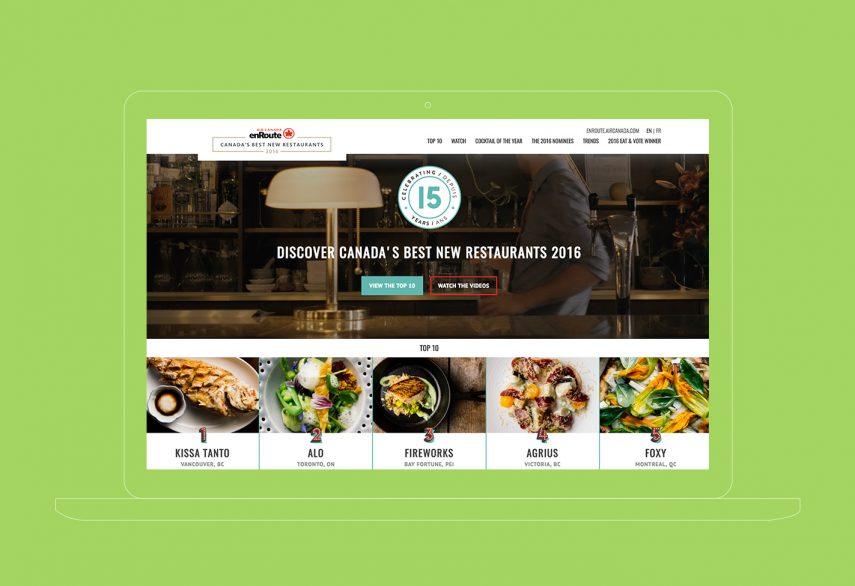 canada's best new restaurants