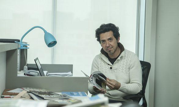 Jorge Cortés, Periodista e Infografista