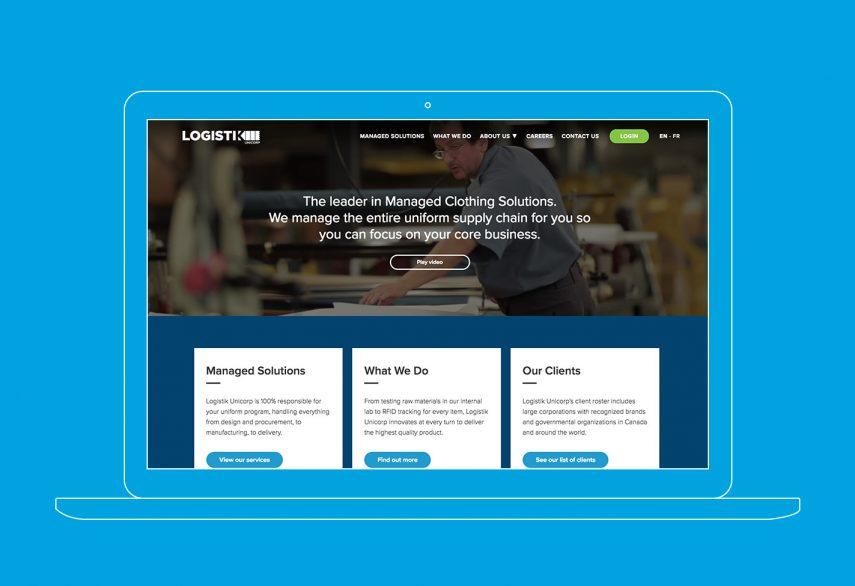 Logistik Unicorp Website