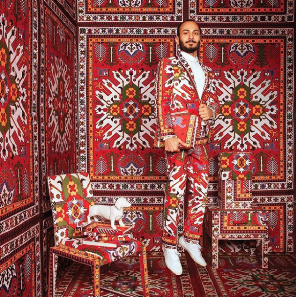 farid rasulov carpet interior