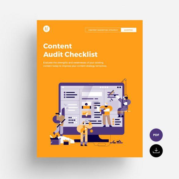 Content Audit Checklist to download
