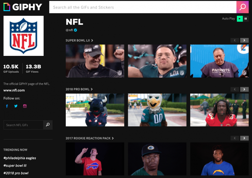 Giphy-NFL-page
