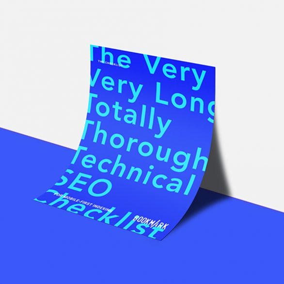 Technical SEO Checklist cover