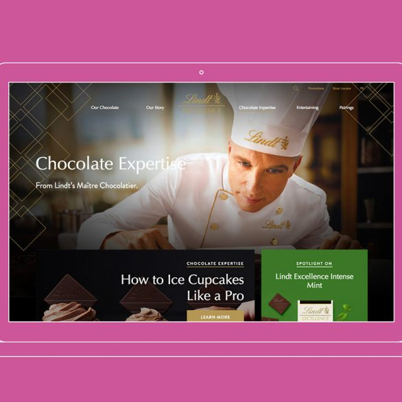 lindt excellence website relaunch case study