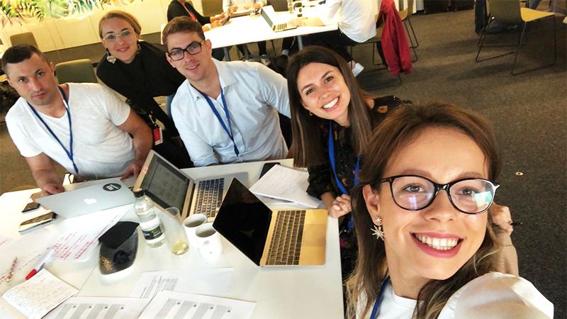 team hackathon london 2018 bookmark
