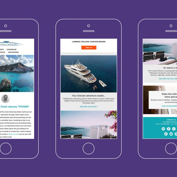 boatbookings lead generation yacht case study mobile