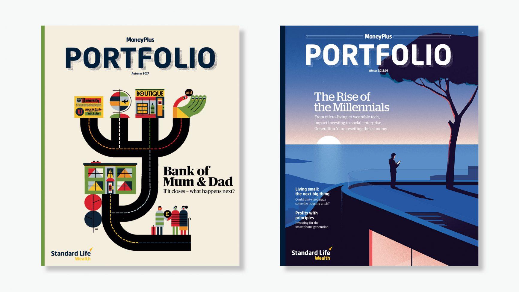 money plus portfolio magazine millennial banking raymond biesinger thomas danthony