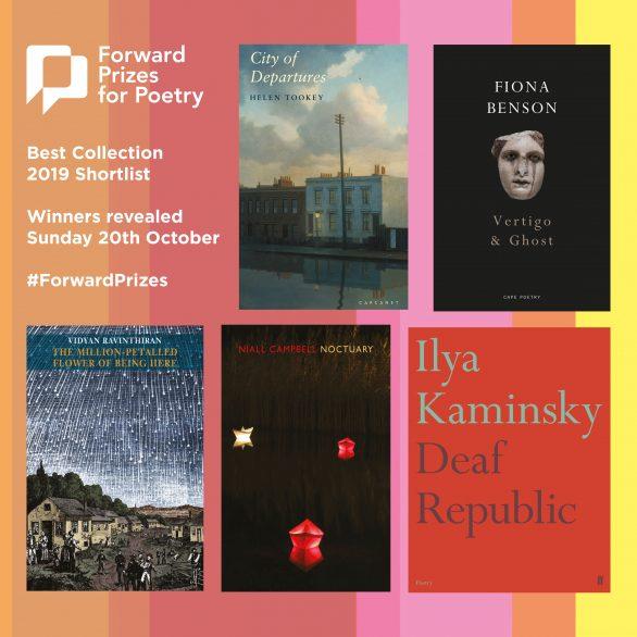 Forward Poetry Prizes 2019 Tookey Benson Ravinthiran Campbell Kaminsky