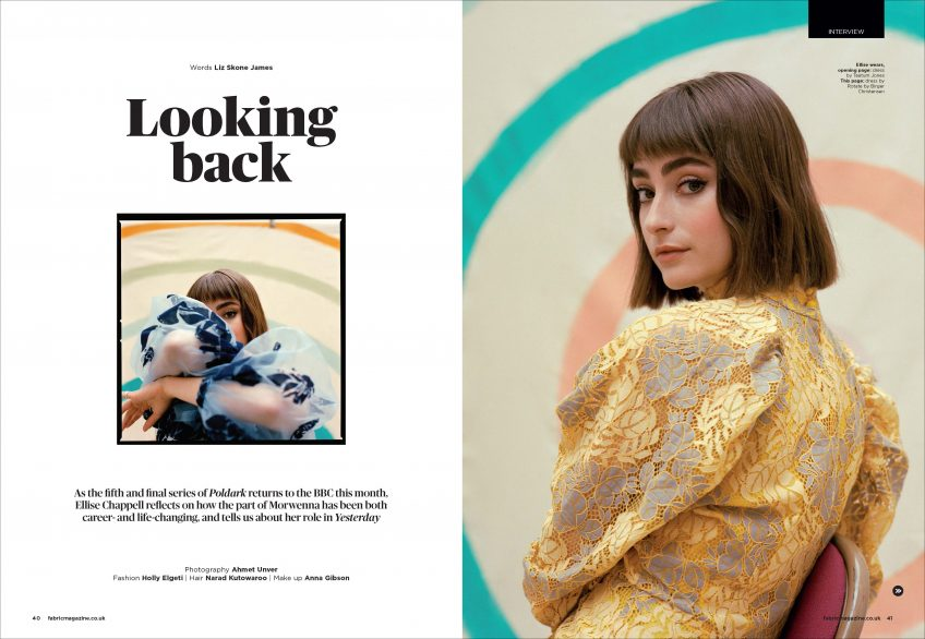 Ellise Chappell cover story fabric magazine