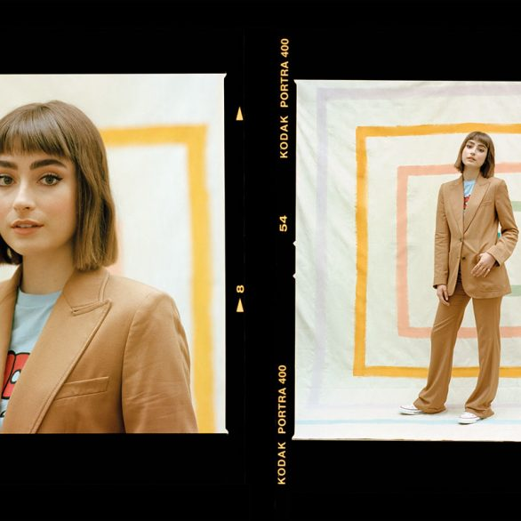 ellise chappell photoshoot fabric magazine