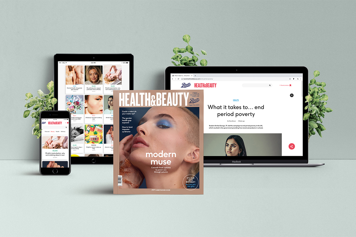 Boots Health & Beauty magazine multichannel strategy