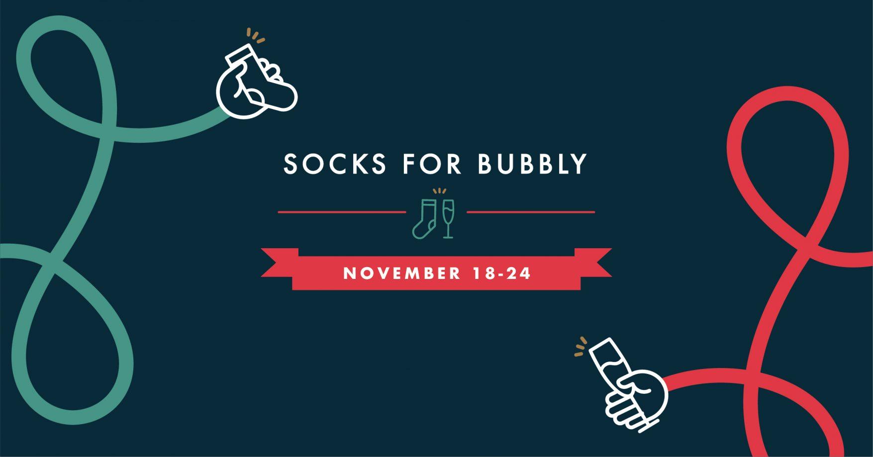 Socks for Bubbly 2019