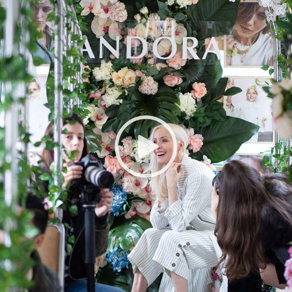 Pandora Garden experiential launch event