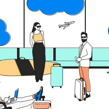 Millennials travel leisure work job infographic